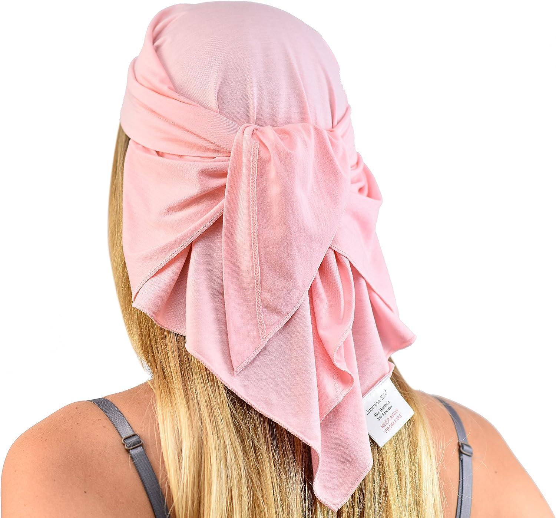 Jasmine Silk Unisex Bamboo Bandana Suitable for Chemo /& Hair Loss Cardani Chemo Cancer Hat