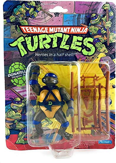 1988 Teenage Mutant Ninja Turtles Figure Select of 10 ORIGINAL LINE A