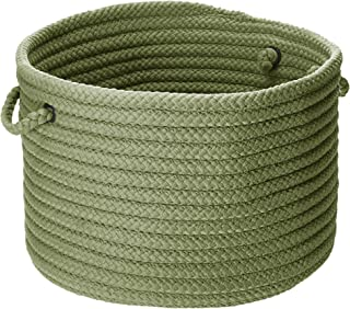 """product image for Simply Home Solid Basket - Moss Green 14""""x14""""x10"""""""