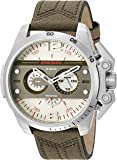 Diesel Men's DZ4389 Ironside Stainless Steel Green Canvas Watch