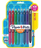 Paper Mate InkJoy Gel Pens, Fine Point, Assorted Colors, 8 Count