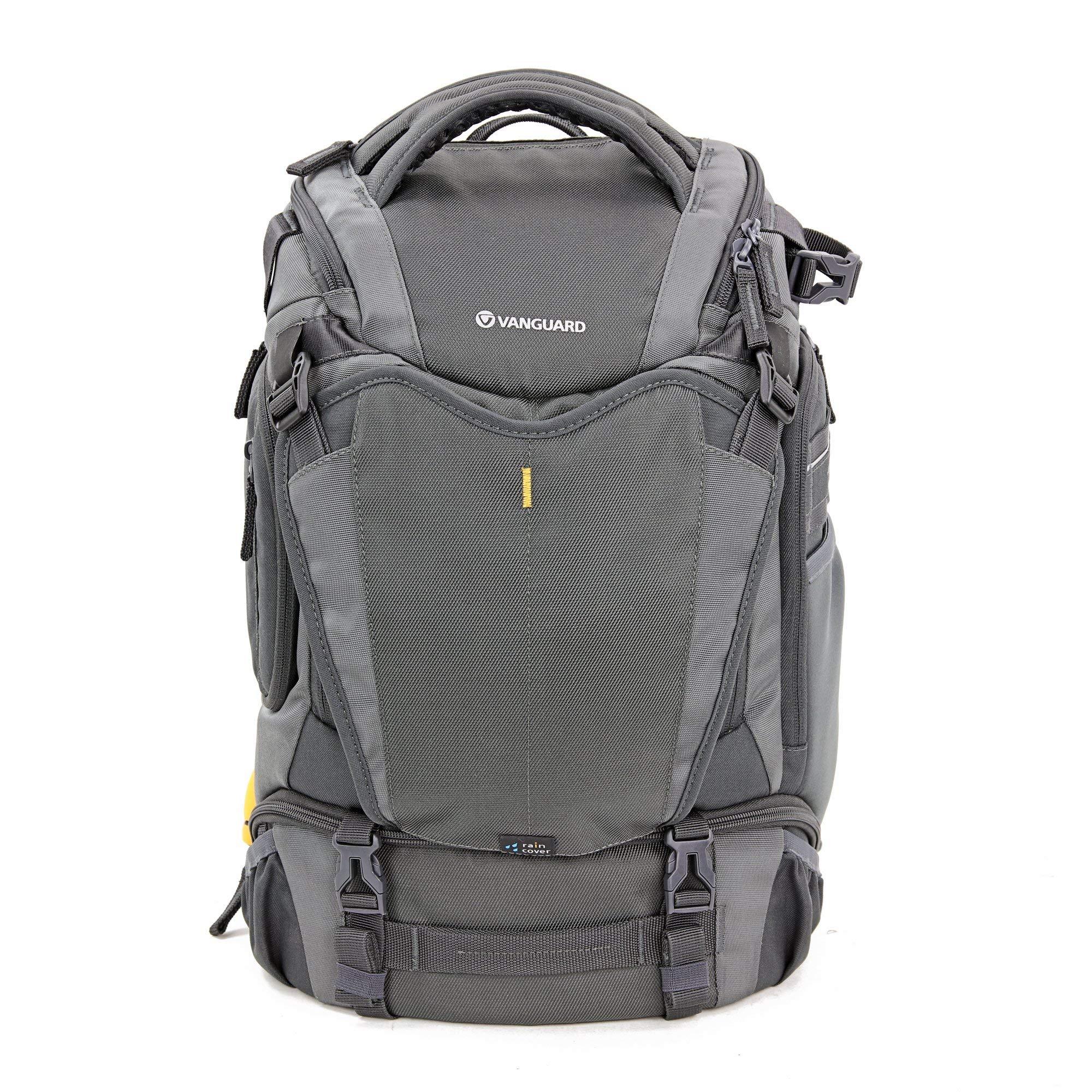 Vanguard Alta Sky 45D Camera Backpack for Sony, Nikon, Canon, DSLR, Drones, Grey (Renewed)