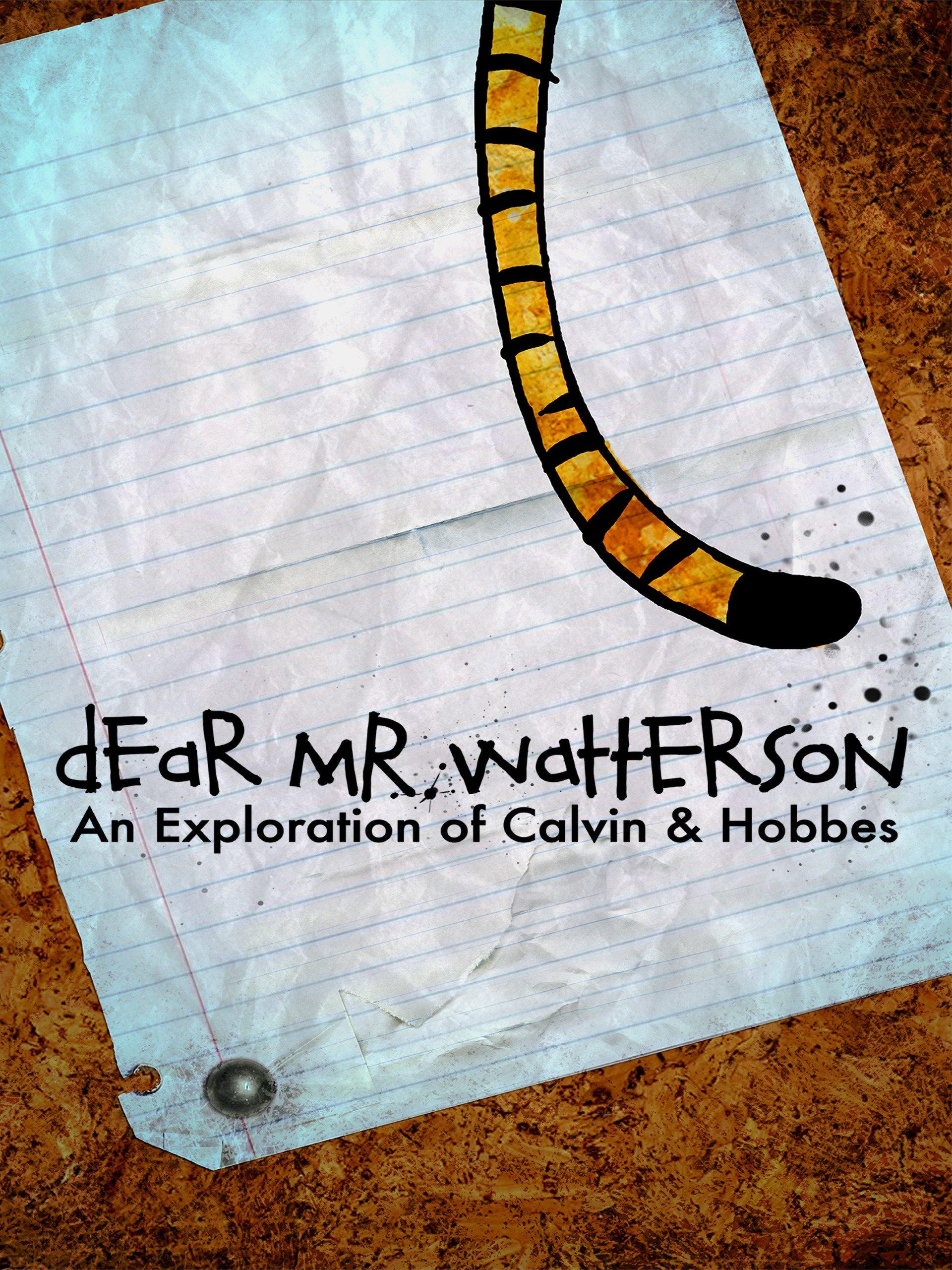 Dear Mr. Watterson on Amazon Prime Video UK