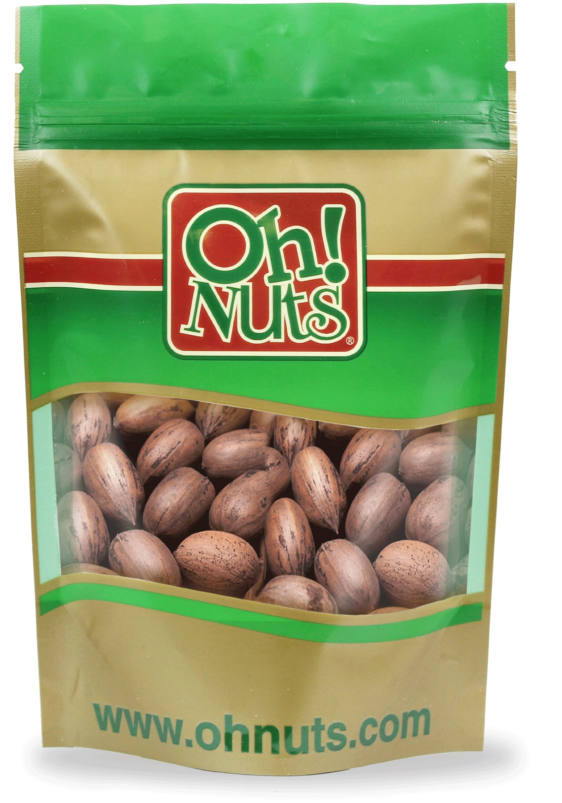 In Shell Pecans 2 Pound Bag - Oh! Nuts by Oh! Nuts