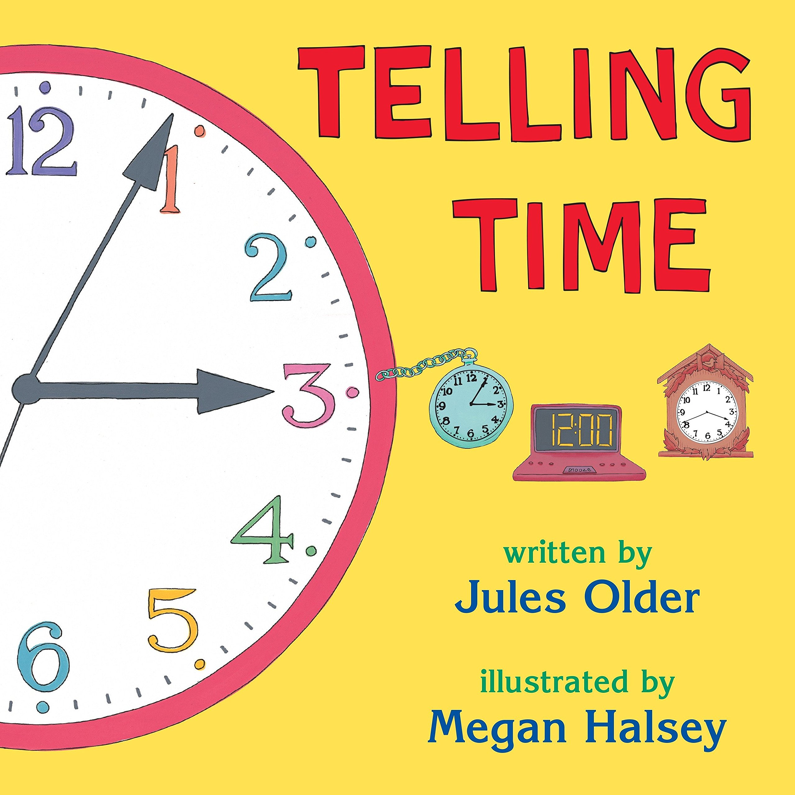 Amazon com: Telling Time: How to Tell Time on Digital and