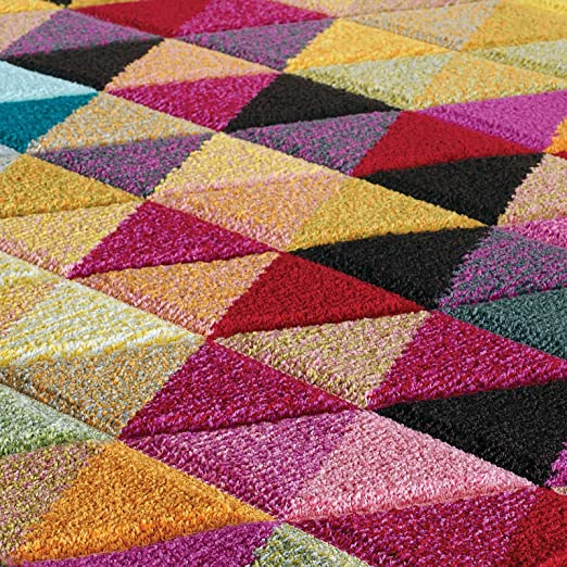 1f6f999aab0 Piccadilly Multicoloured Rugs 526 X - 80X150CM  Amazon.co.uk  Kitchen   Home