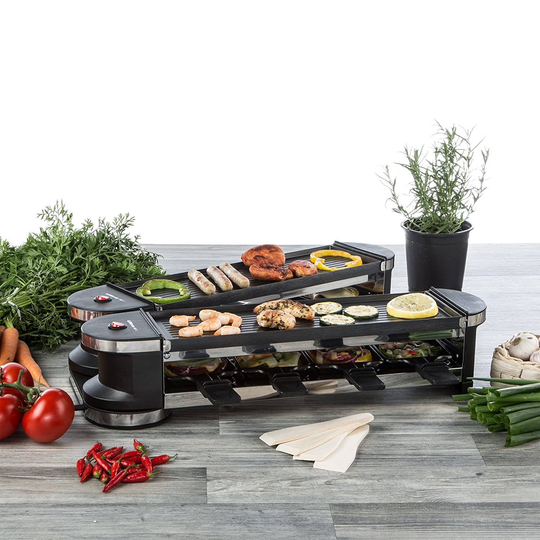 Ultratec-Küche 331400000243 Articulada Duo 4, Parrilla Raclette ...