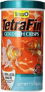 TetraFin Goldfish Crisps Clear Water Advanced Formula