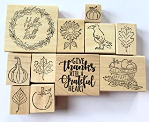 Fall Rubber Stamps