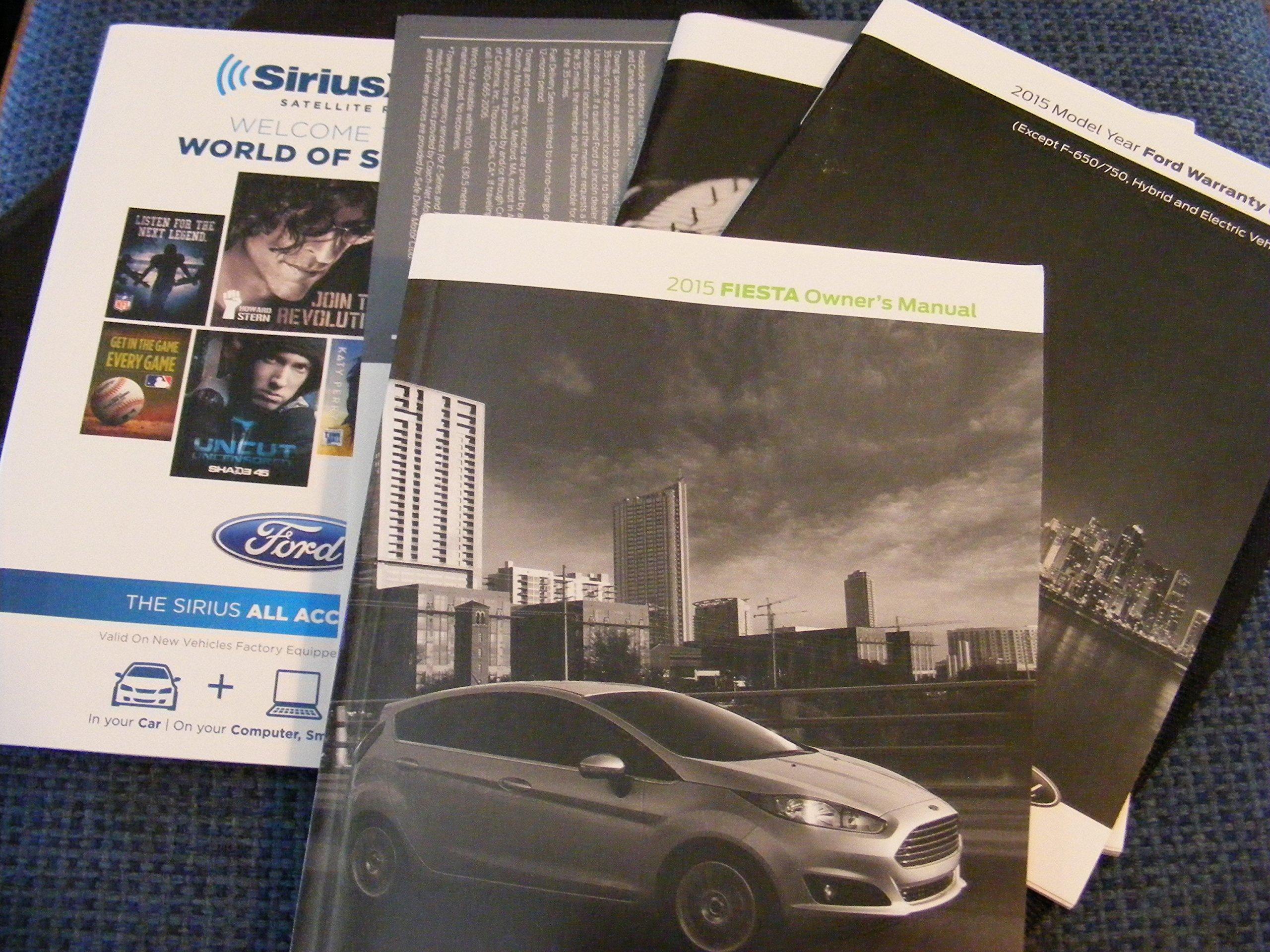 2015 ford fiesta st service manual