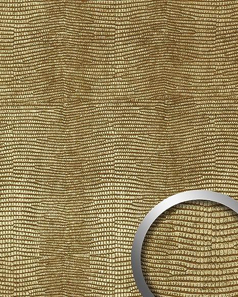 Panel decorativo autoadhesivo de lujo diseño piel de iguana WallFace 13478 LEGUAN con relieve 3D color