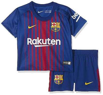 edb14021 Nike Fcb I Nk Brt Kit Hm Camiseta de Equipación Línea FC Barcelona, Bebé- Niños, Azul (Deep Royal Blue/University Gold), 18-24: Amazon.es: Ropa y  accesorios
