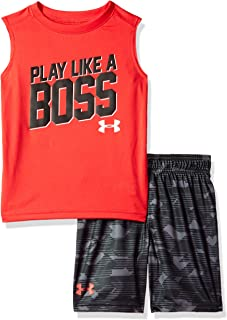 Under Armour Boys Ua Promo Muscle Tank and Short Set