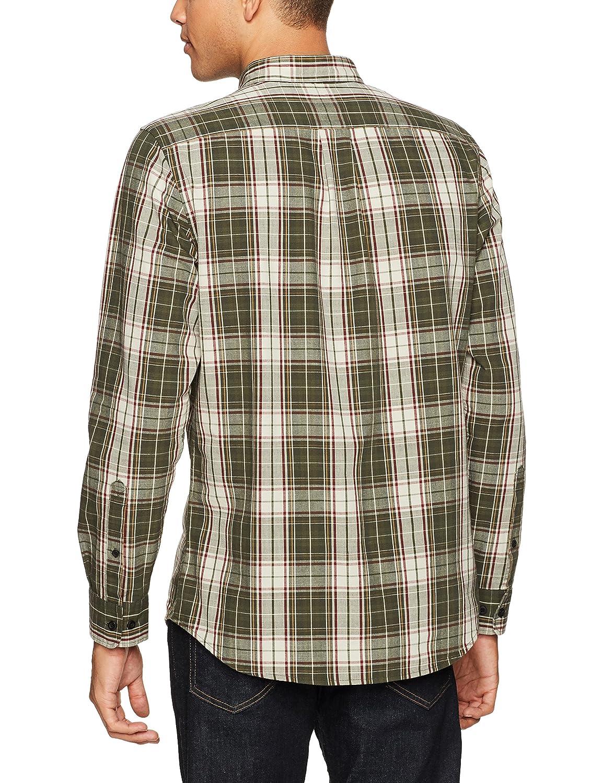 Goodthreads Mens Standard-Fit Long-Sleeve Plaid Slub Shirt Brand