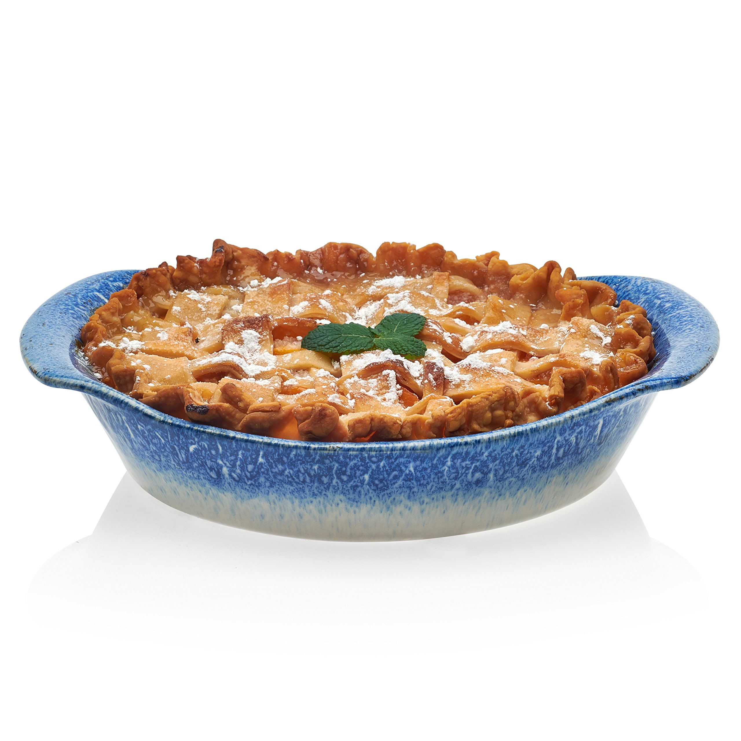 Libbey Artisan Stoneware Pie Plate, 9.5-inch by Libbey (Image #1)