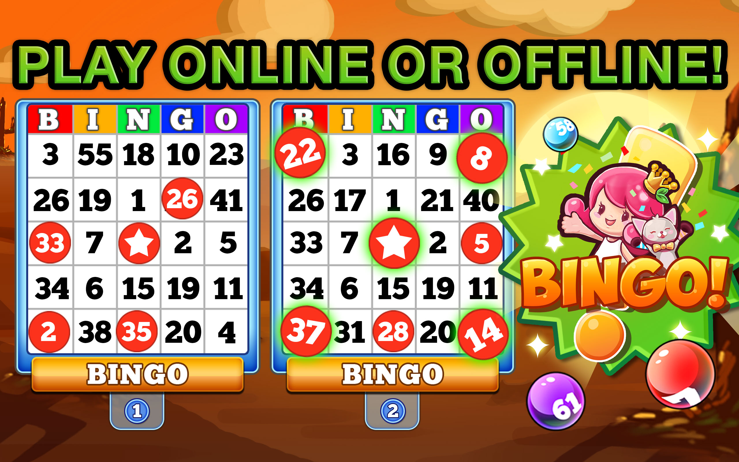 Amazon Com Bingo Heaven Free Bingo Games Download To Play For Free Online Or Offline