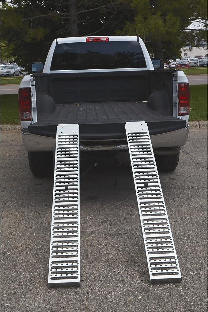 6ft.L x 9in.W Total Capacity 1000-Lb Ironton Non-Folding Steel Loading Ramp Set