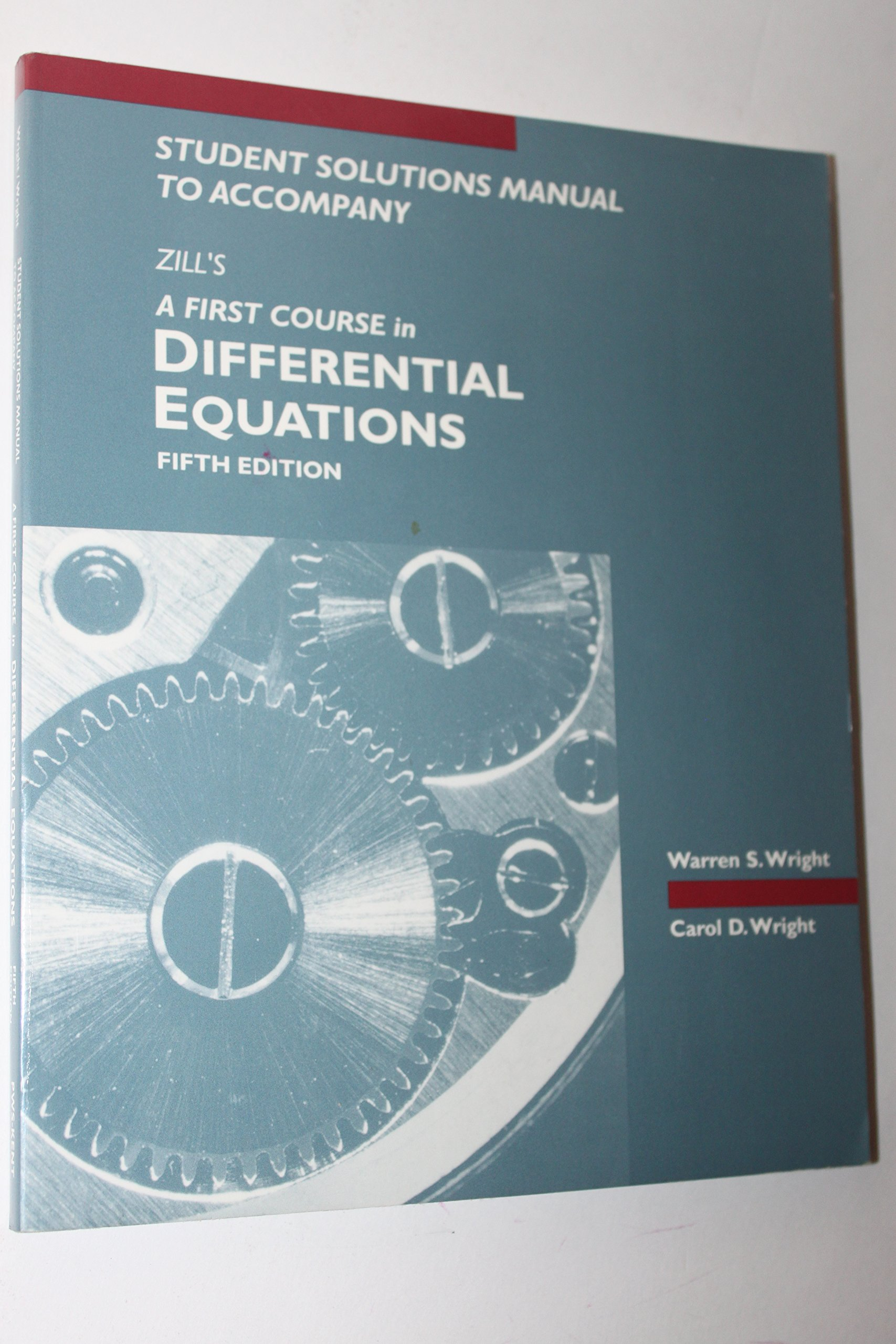 Buy First Course in Differential Equations with Applications: Instructors'  Manual to 5r.e Book Online at Low Prices in India | First Course in  Differential ...