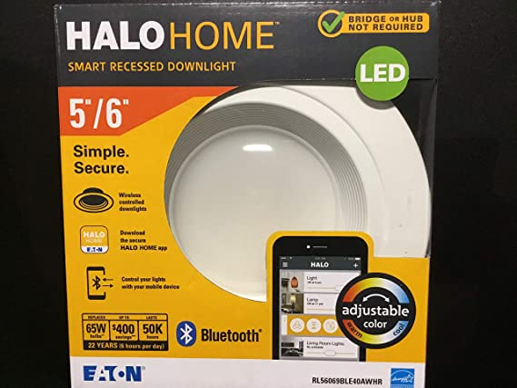 Amazon.com: RL56069BLE40AWHR Bluetooth, Retrofit Downlight, 5