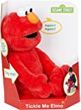 "123 Sesame Street 18"" Tickle Me Elmo Laughs & Giggles Childrens Kids Cuddly Toy"