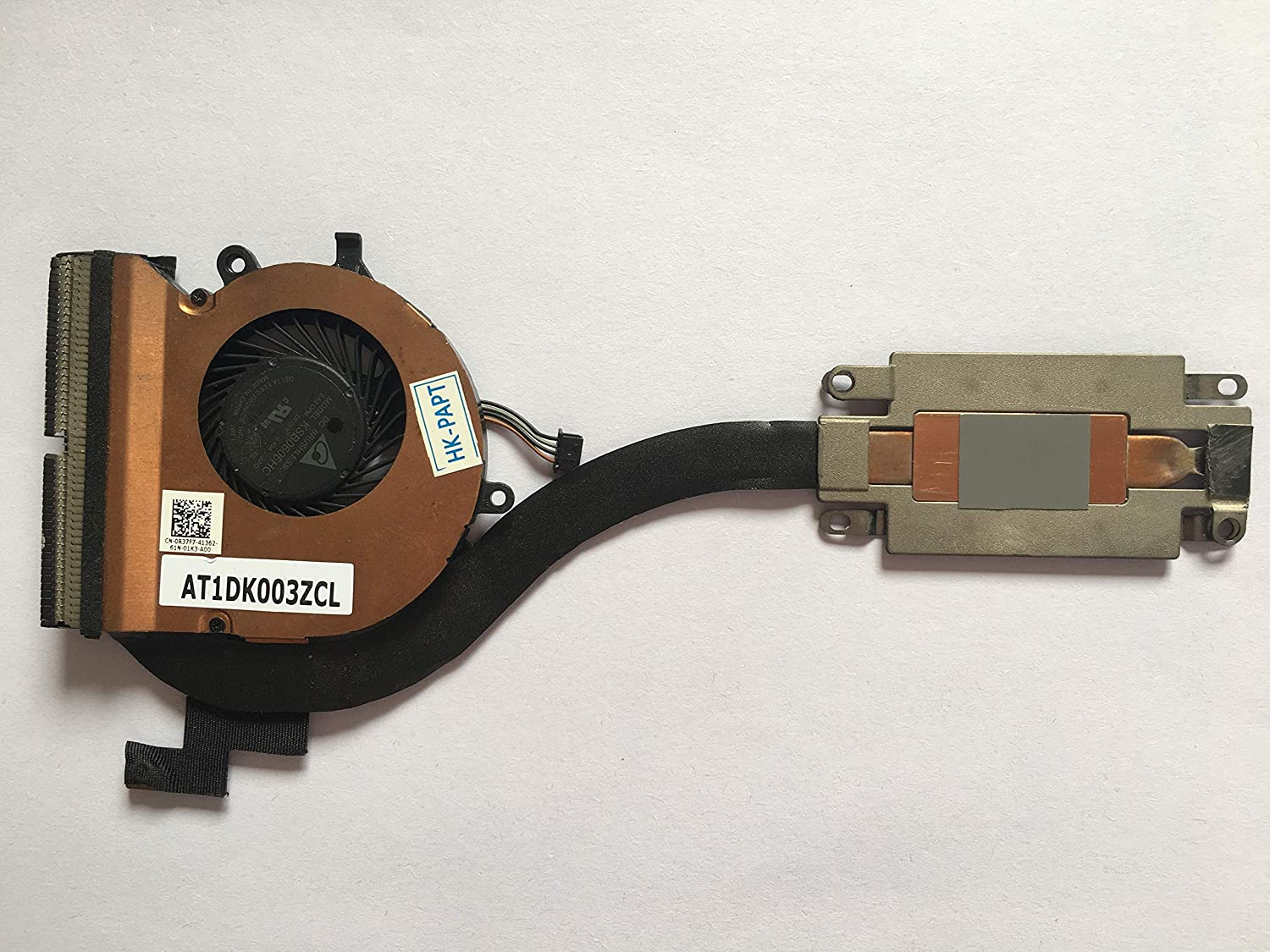 HK-Part Replacement Fan for Dell Latitude 12 7000 E7270 Series CPU Cooling Heatsink with Fan Assy 4-Pin DP/N R37F7 0R37F7