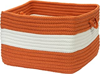 product image for Colonial Mills Rope Walk Utility Basket, 18 by 12-Inch, Rust