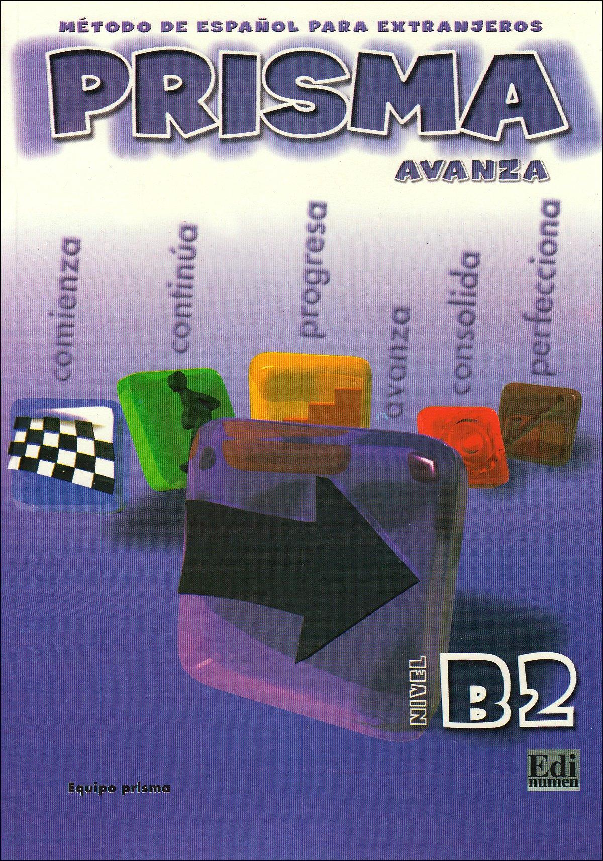 PRISMA Avanza – Nivel B2: Método de español para extranjeros / PRISMA del alumno – Kursbuch