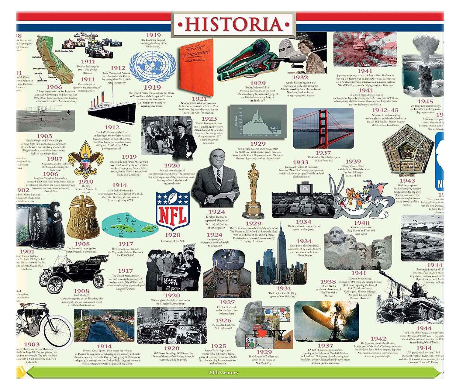 amazon com american history timeline office products