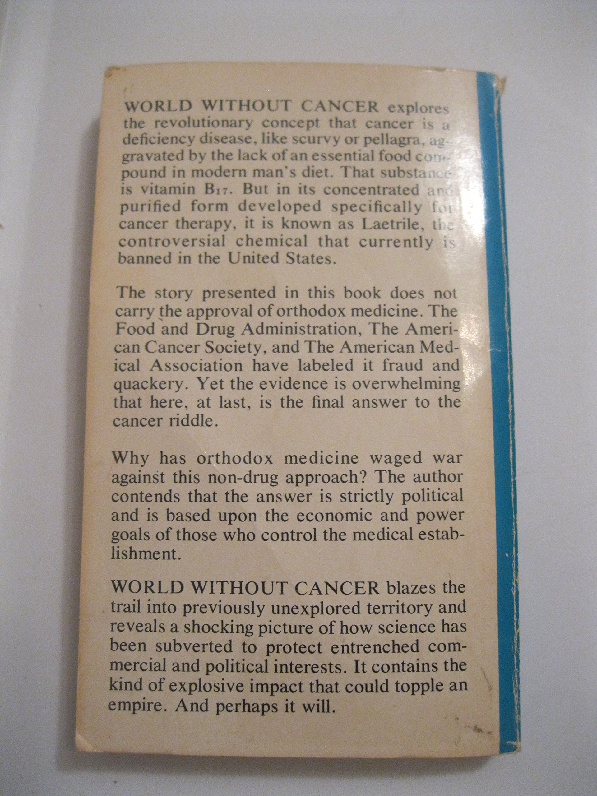 Pdf 8370 World Without Cancer The Story Of Vitamin B17 Part Ii