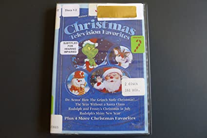 christmas television favorites 2 disc set dr seuss how the - How The Grinch Stole Christmas Tv Schedule