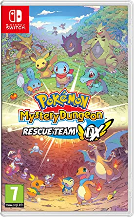 Pokemon Mystery Dungeon: Rescue Team DX - Nintendo Switch [Importación inglesa]: Amazon.es: Videojuegos