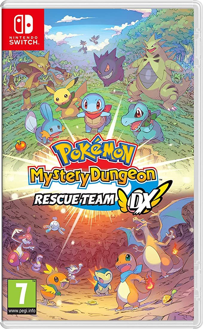 Pokemon Mystery Dungeon: Rescue Team DX - Nintendo Switch [Importación inglesa]