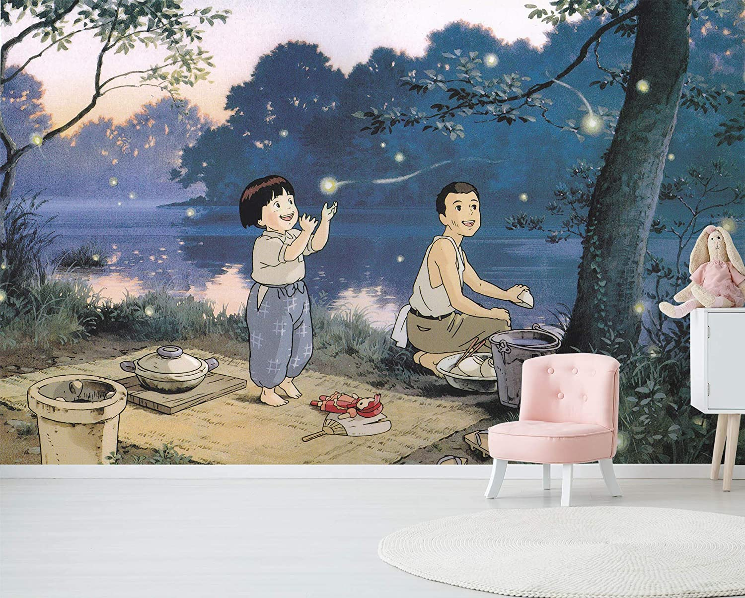 3d Grave Of The Fireflies 577 Japan Anime Wall Paper Print Decal