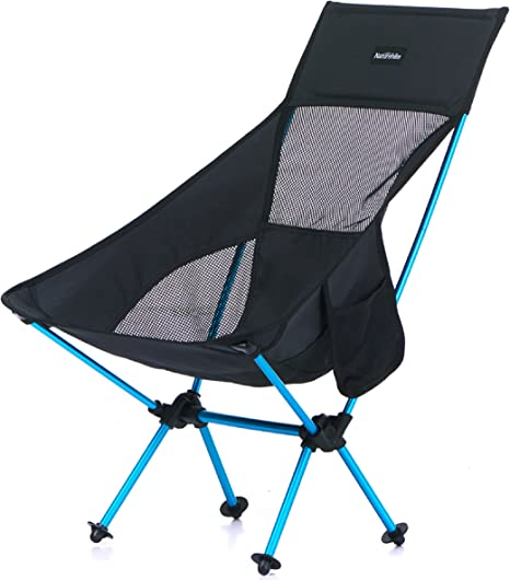 Backpacking TRIWONDER Folding Camping Chair Lightweight Portable Backpacking Camp Chairs Compact with Carry Bag for Camping Hiking Beach