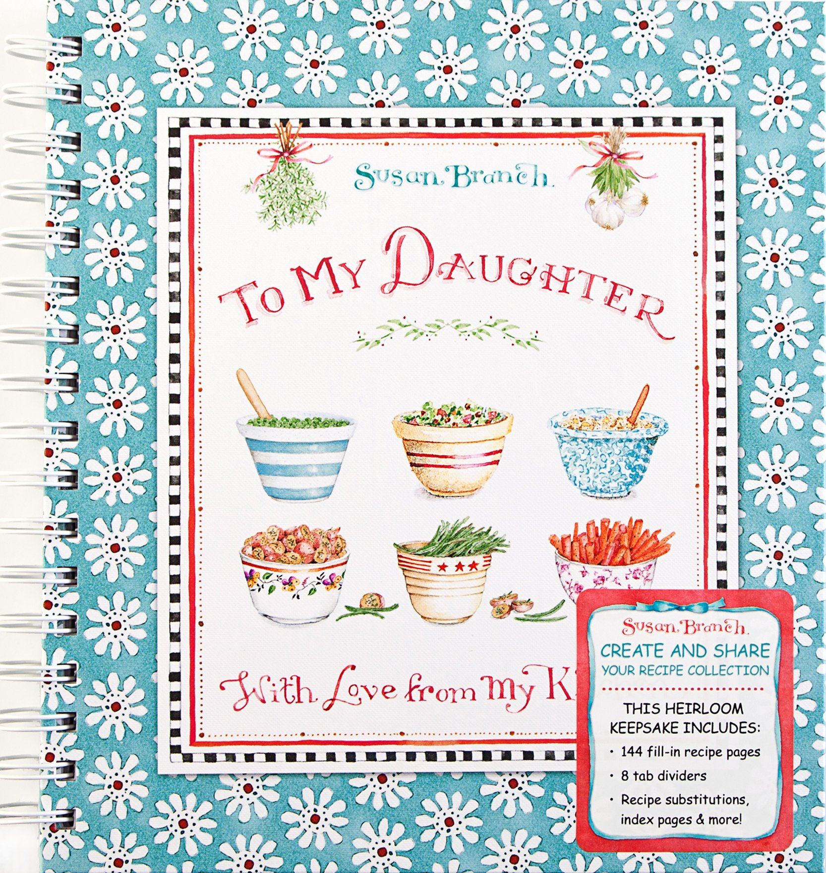 Read Online Recipe Keepsake Book - To My Daughter: With Love from My Kitchen PDF