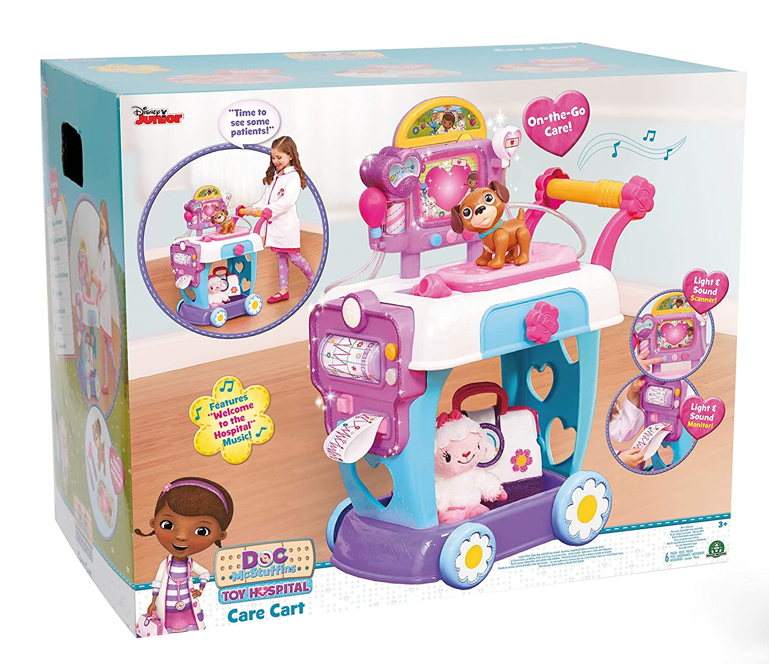 Doctora Juguetes - Toy Hospital, Care Cart (Giochi Preziosi DMH01001): Amazon.es: Juguetes y juegos
