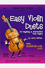 Easy Violin Duets: for Beginning and Intermediate Violin Players Paperback