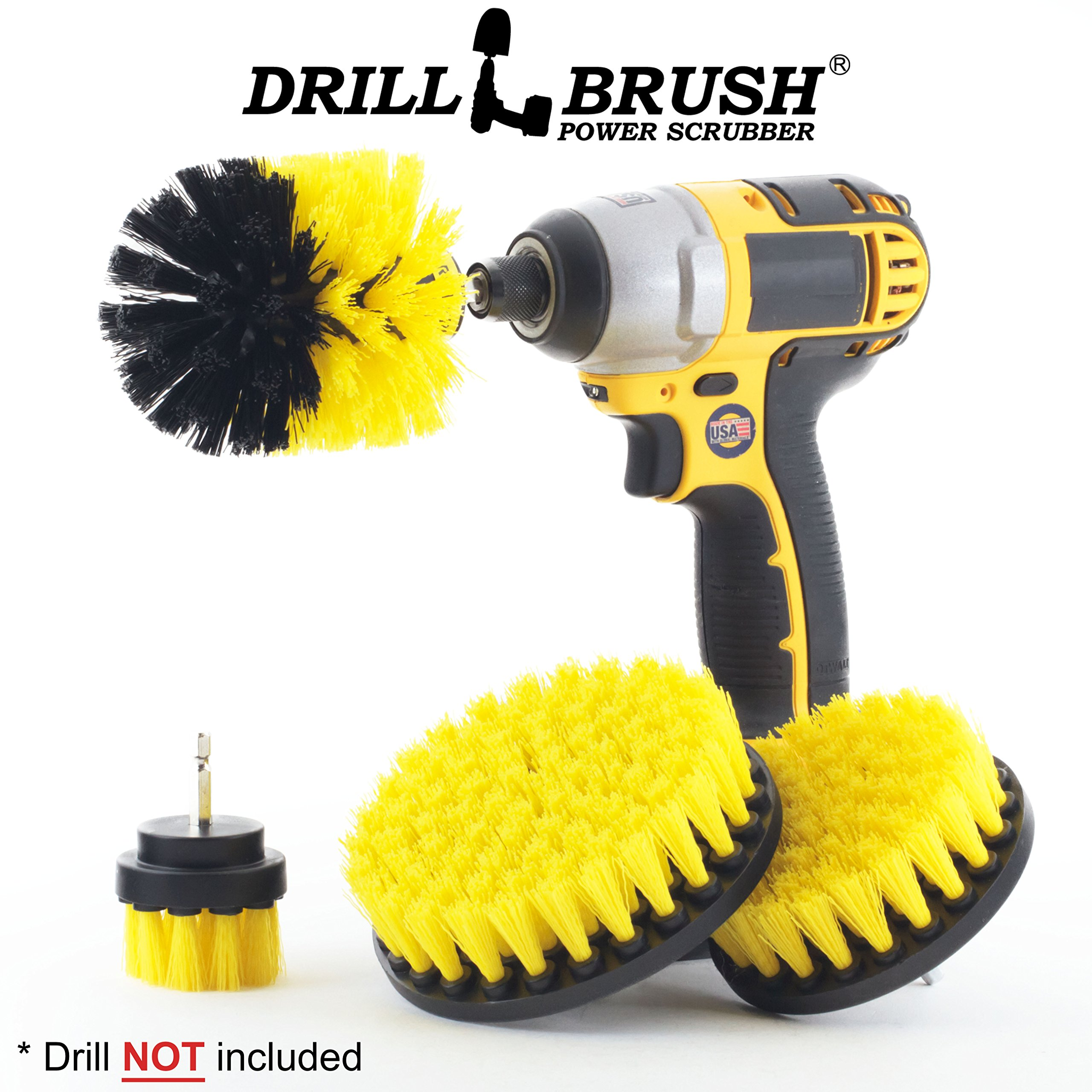 Bathtub Cleaning Drill Brush cumberlanddems