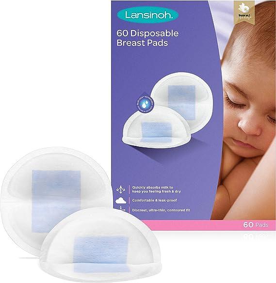 Huiouer 10x Breast Nipple Milk Pad Disposable Breast Nursing Pads for Breastfeeding Bra