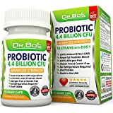 Vegan Probiotics - Dr. Bo's Multi Probiotic for Women, Men and Kids - Daily Dairy Free Supplement with Natural Acidophilus, Bifidobacterium, Prebiotics and Oral Capsules - Non Refrigerated Flora Pills