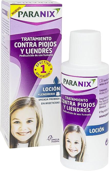 Paranix Loción. Tratamiento para Piojos y Liendres - Incluye ...