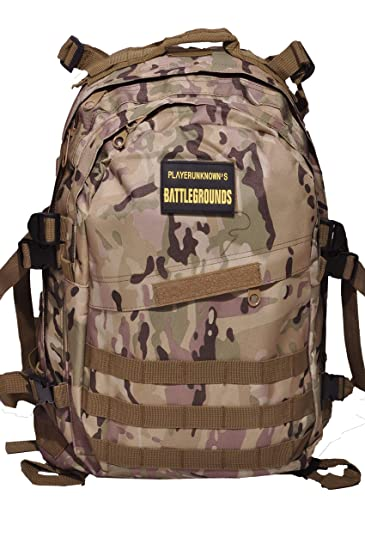 2d1b797bf01 PubG Level 3 Backpack for Collage School Tracking Travelling Large Space 45  L: Amazon.in: Bags, Wallets & Luggage