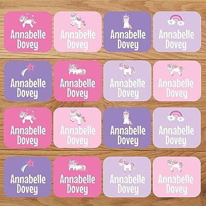 Etiquetas adhesivas para ropa, unicornio, personalizadas para ...
