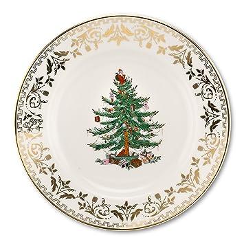 Spode Christmas Tree Gold Dinner Plate Set of 4  sc 1 st  Amazon.com & Amazon.com   Spode Christmas Tree Gold Dinner Plate Set of 4 ...