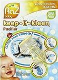 RaZbaby Keep-it-Kleen Pacifier, Bobby Bear