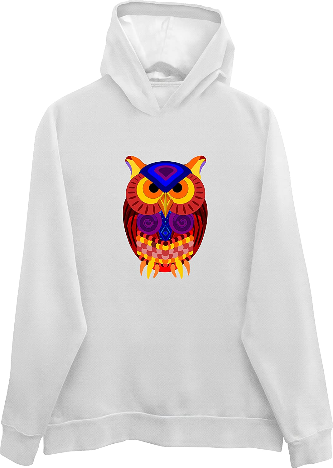 Psychedelic Trippy Owl Hoodie