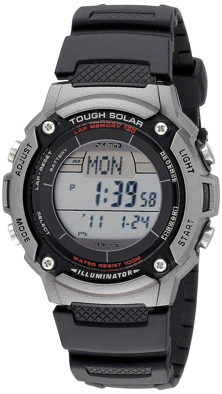 9419778e4 Casio Men's WS200H-1AVCF Tough Solar Powered Multi-Function Digital Sport  Watch: Amazon.co.uk: Watches