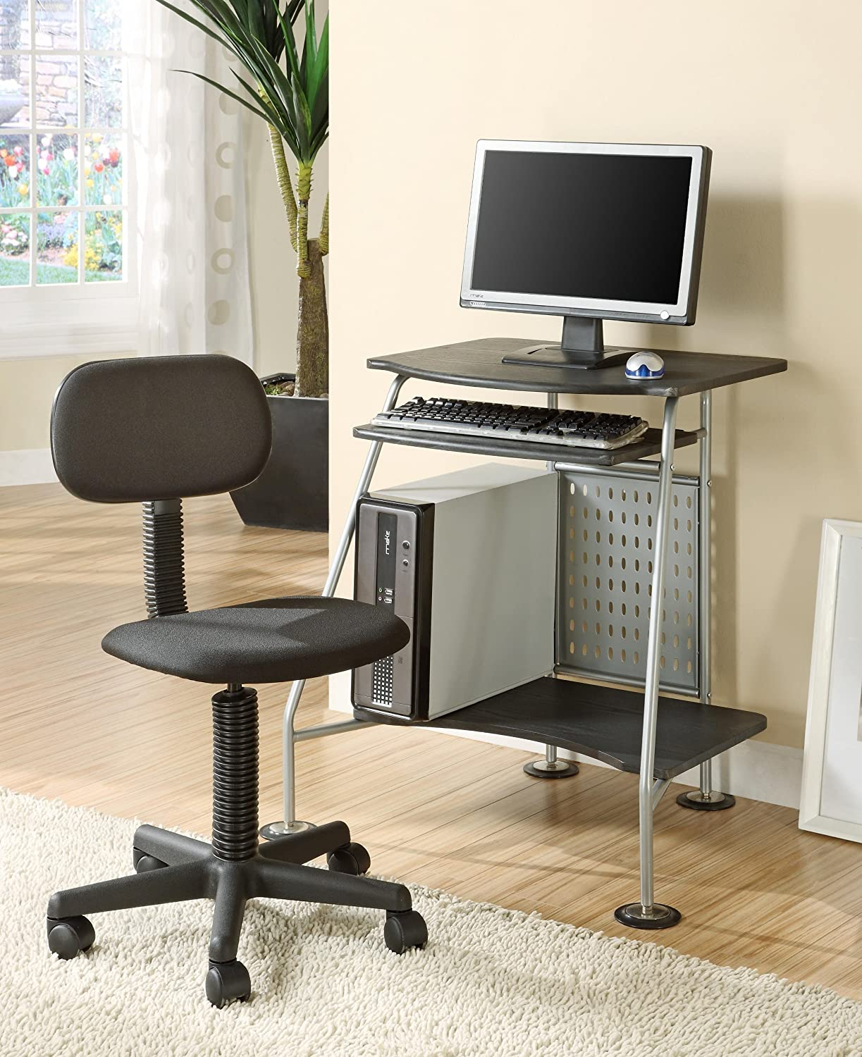 Amazon Com Innovex Computer Desk With Student Chair Combo Furniture Decor