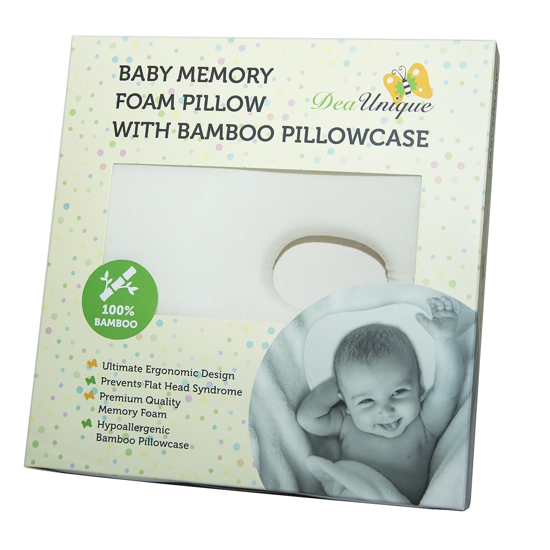Amazon.com: Almohada de bebé recién nacido para prevenir el ...