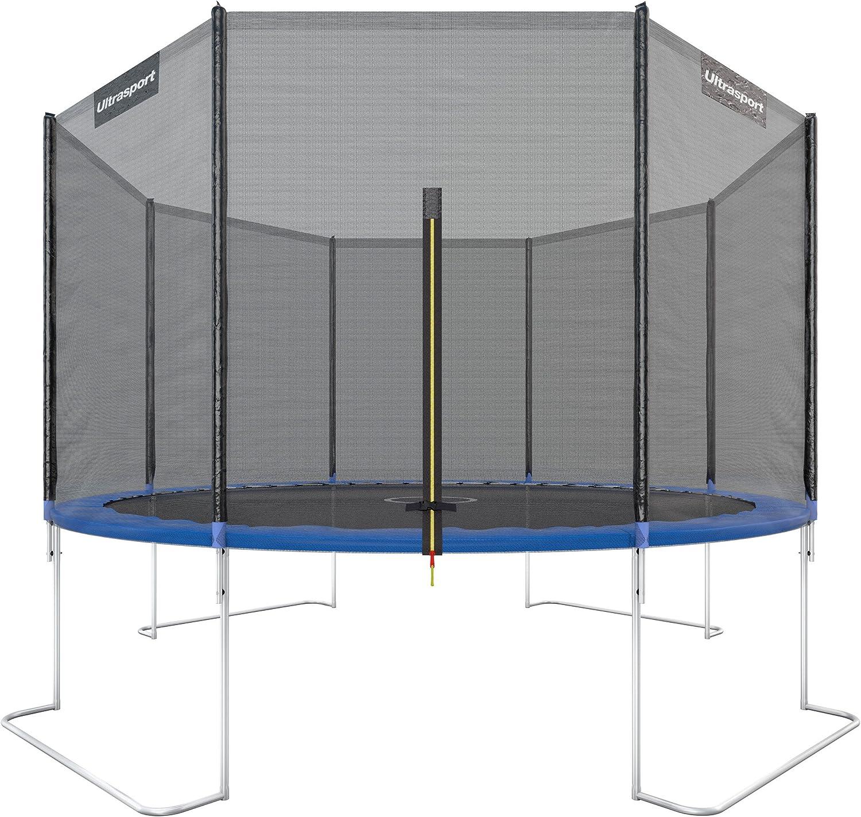 Trampolin Komplettset mit Netz Gartentrampolin Kindertrampolin Ø183cm DHL Blau